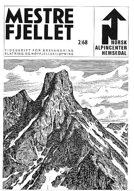 tegn fjell skisse